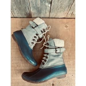 SPERRY for J.CREW shearwater buckle winter boots